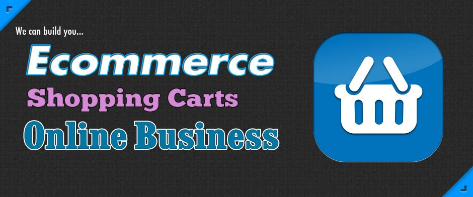 We can build you Ecommerce shopping carts for your online business.